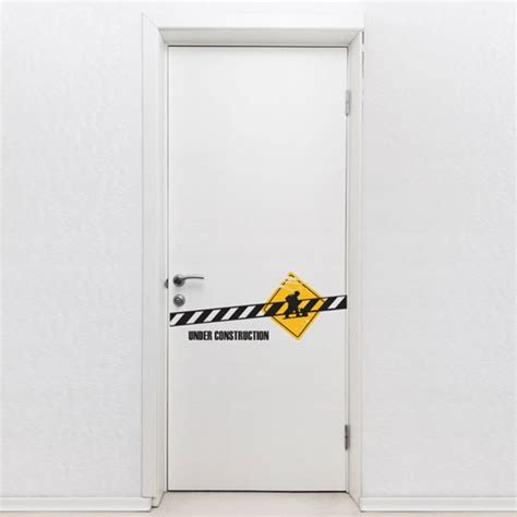 Door Decal by Door Decal Construction Door Decals