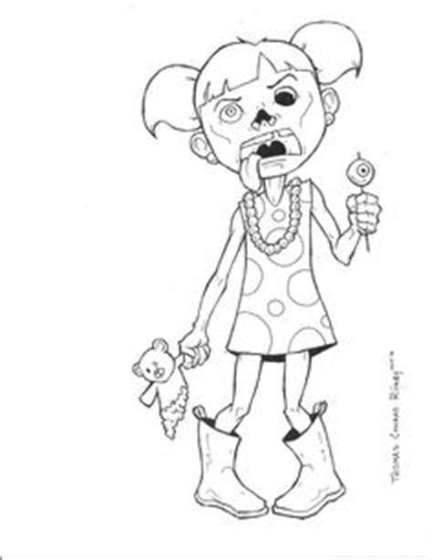 girl zombie coloring pages  getdrawingscom