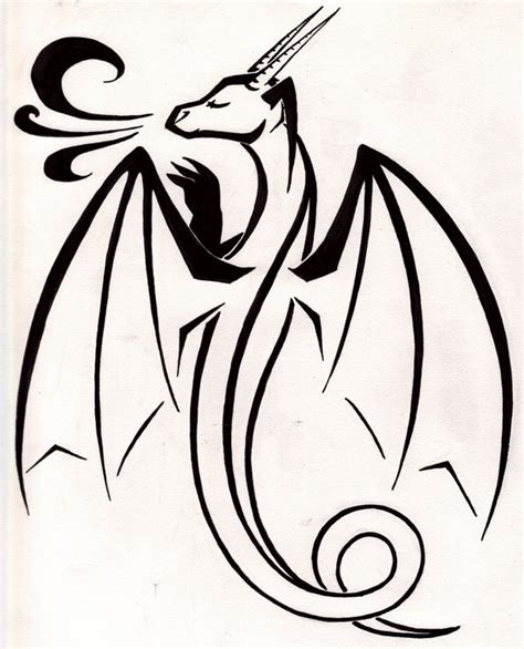 dragon tattoo design simple simple dragon tattoo by tsukitsu on deviantart