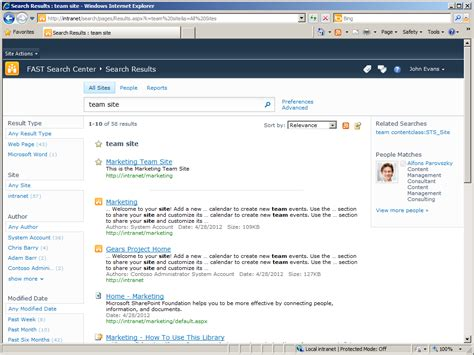 best search fast search user contexts and best bets in sharepoint 2010