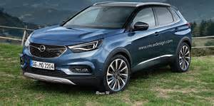 Opel Astra Suv 2017 Opel Grandland X Rendered Upcoming Small Suv Imagined