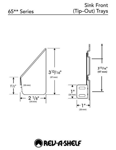 tilt out sink tray home depot rev a shelf 3 8125 in h x 13 in w x 2 125 in d white