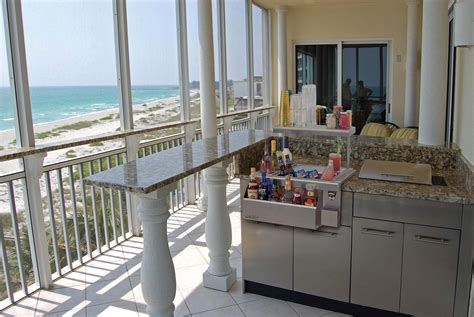 Balcony Bar And Grill by Grill Danver Stainless Steel Cabinetry