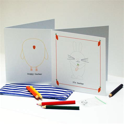 make your own easter cards make your own googly eye easter cards by spotty n stripy