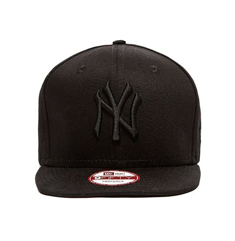 Ny Gb Cap Snapback new era 9fifty ny new york yankees black on black snapback hat cap ebay