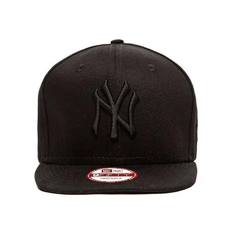 new era black on black new era 9fifty ny new york yankees black on black snapback