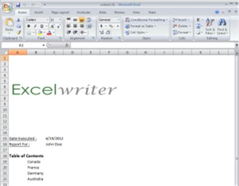 how to cover page excel create techyv