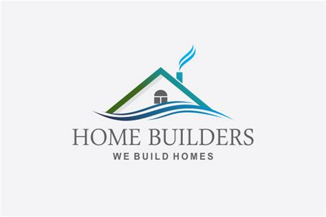 home builders logo v2 logo templates on creative market