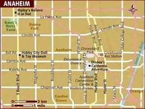 maps of anaheim california map of anaheim