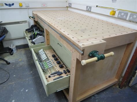festool bench workbenches with a difference table saw central
