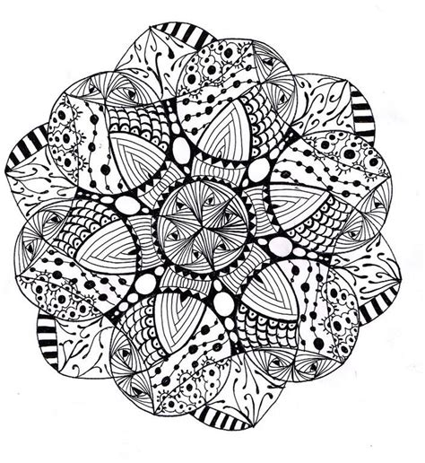 advanced mandala coloring pages printable dessin de coloriage mandalas difficile 224 imprimer cp17140