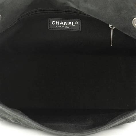Chanel Calfskin Logo Flap Bag by Chanel Vip Flap Bag Quilted Iridescent Calfskin At 1stdibs
