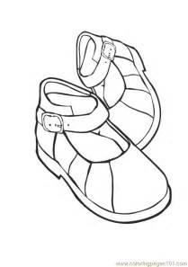 shoe color shoes coloring page free shoes coloring pages
