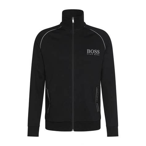Tracksuit Jacket hugo zip through tracksuit jacket black underu