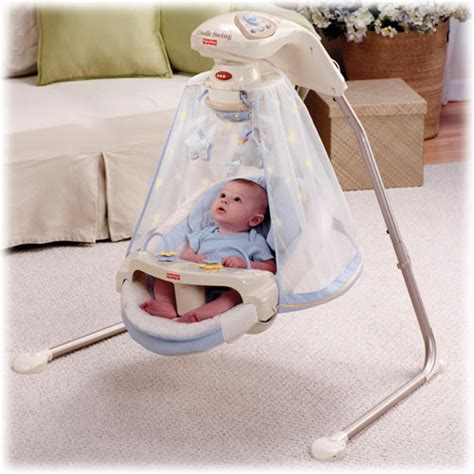 starlight fisher price swing the sounds of birds chirping a babbling brook and 8 happy