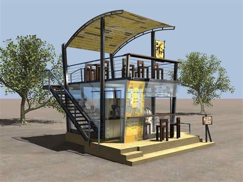 exterior coffee shop design concepts   ARCH.DSGN