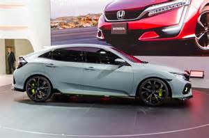 Honda Civic Honda Civic Hatchback Teased Ahead Of 2016 Geneva Debut