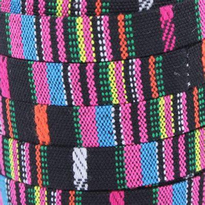 Black Mix Ethnic ethnic lace 12 mm black mix x30cm perles co