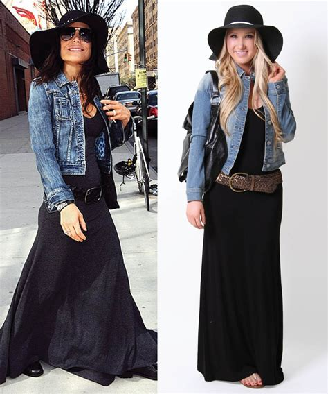 Jaket Bloods Denim add a jean jacket hat to your maxi dress for a