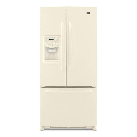bisque colored refrigerators shop maytag 21 7 cu ft door refrigerator color