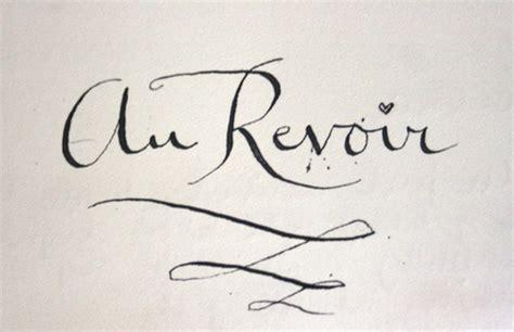 au revoir life amp poetic philosophy