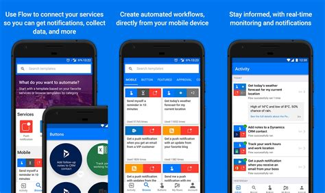 microsoft android apps microsoft flow app for android updated with many new improvements mspoweruser howldb