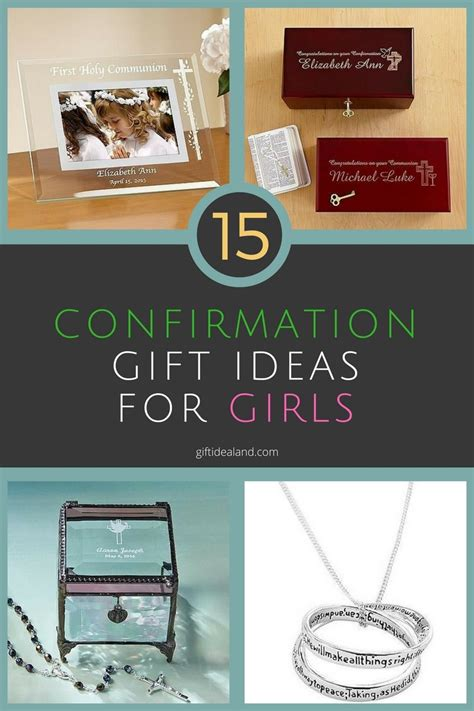 what is a gift 15 unique confirmation gift ideas for