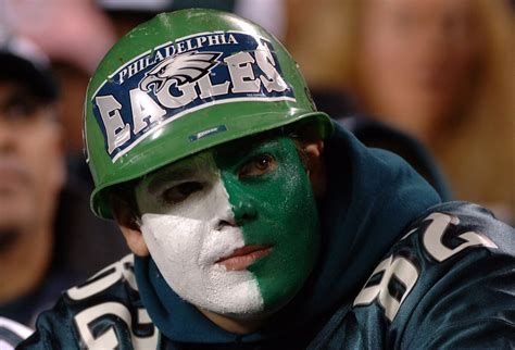 philadelphia eagles fan philadelphia tops list of unhappiest pro football city
