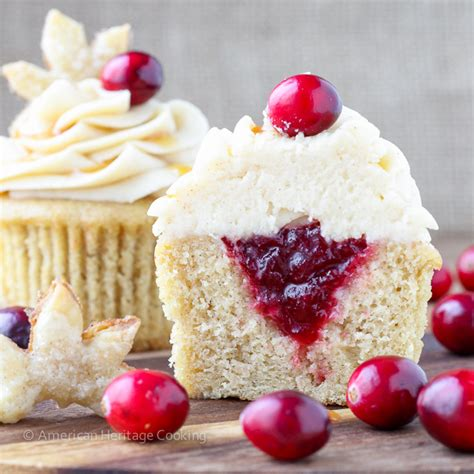 cranberry sauce with apple cider cooking light spiced apple cider cranberry cupcakes
