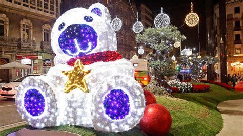 imagenes navidad vigo navidad 2017 en vigo el alumbrado se encender 225 el 24 de
