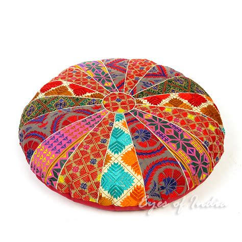 floor pillow cushion colorful embroidered floor pillow cushion cover 22