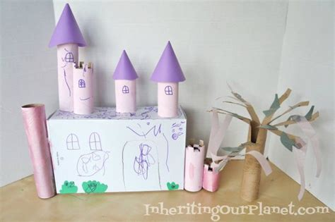 Toilet Paper Roll Castle Craft - 45 diy toilet paper roll crafts relaxing for you and