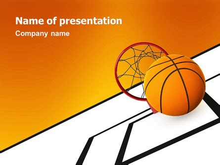 Basketball Brochure Template Design And Layout Download Basketball Powerpoint Presentation