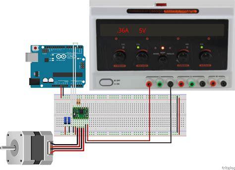 motor driver arduino exercise stepper motor knob