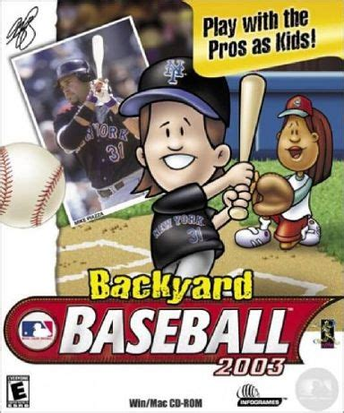 backyard baseball humongous entertainment play online backyard baseball 2003 free download 171 igggames