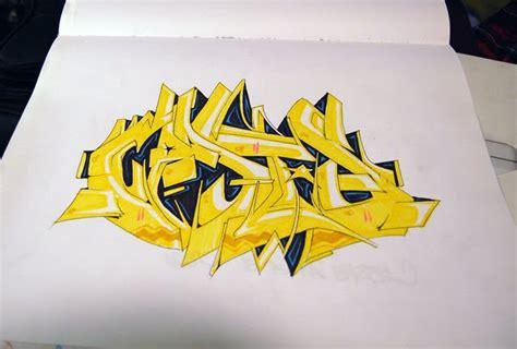 draw graffiti names  style  grafiti makmu