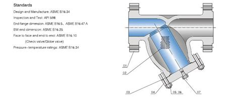 Y Strainer Drawing by Y Type Strainer Tengs Valve