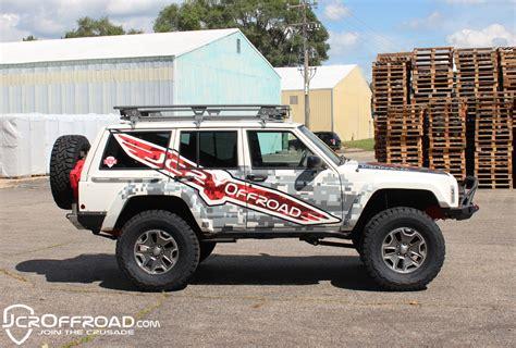 jcroffroad adventure roof rack xj
