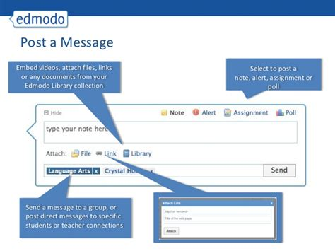 edmodo messaging edmodo for teachers
