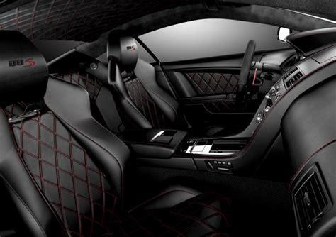 Black Car Interior by 2012 Aston Martin Dbs Ultimate 287 576 Gets You One Of