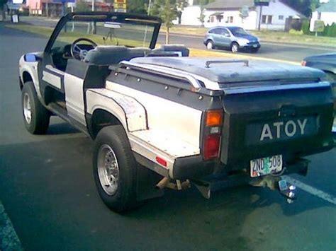 Convertible Toyota Truck Kit