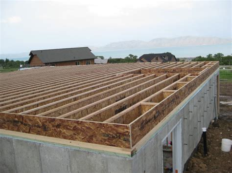 Floor Framing Estate Buildings Information Portal House Floor Joists Construction