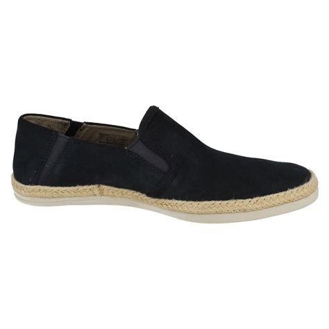 mens clarks casual slip on shoes bota step ebay