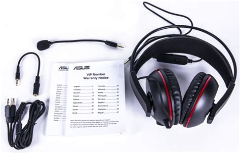 Headset Asus Cerberus review asus cerberus comfortable gaming headset with two