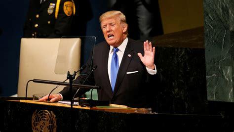 donald trump un speech unga 2017 donald trump full video and transcript at
