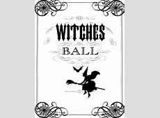 Vintage Halloween Printable - The Witches Ball - The ... About:blank Free Halloween Clipart