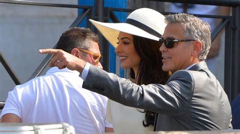 Hochzeit Namen Behalten by George Clooney Nach Hochzeit Amal Alamuddin 228 Ndert