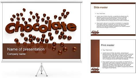 free ppt templates for chocolate chocolate powerpoint template backgrounds id 0000001093
