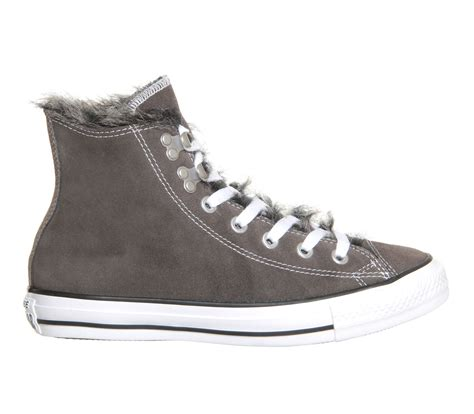 Converse Hi Gray converse ctas hi hook in gray charcoal lyst