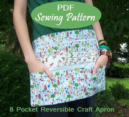 pattern for vendor apron instant download new 8 pocket reversible vendor apron ebook